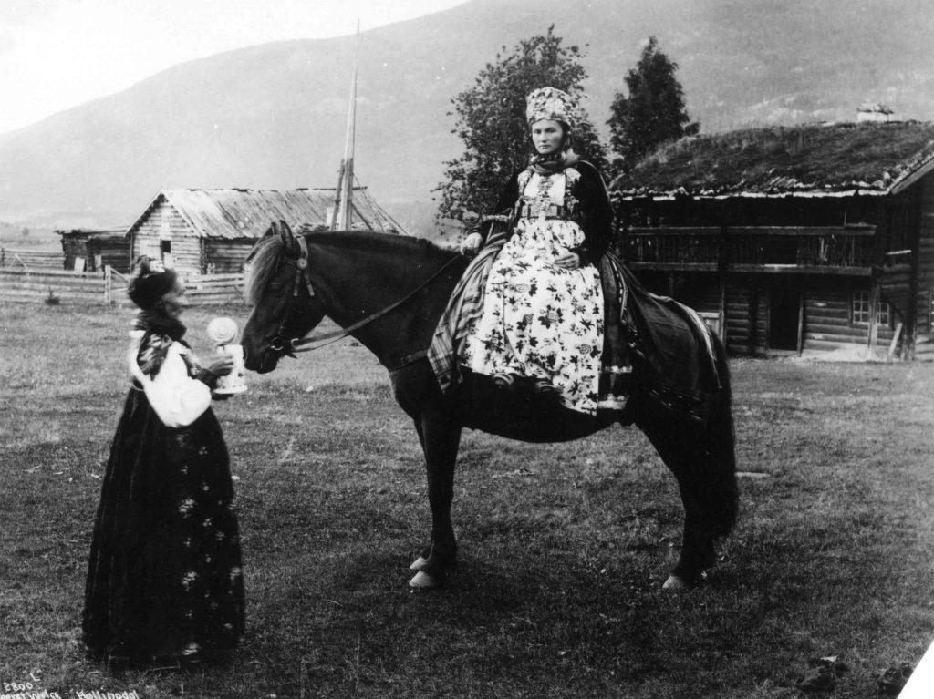 brud buskerud 1800-tallet