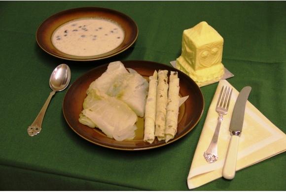 lutfisk, lefse og melkesuppe