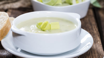potetsuppe med purre