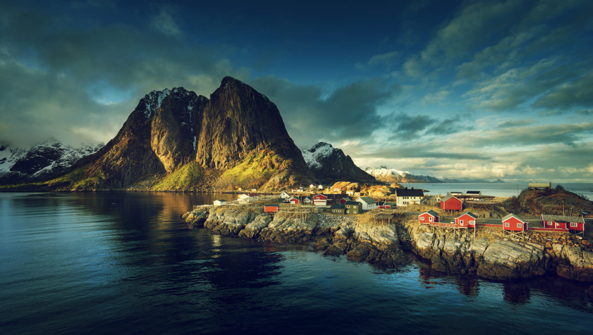 lofoten nordland landskap