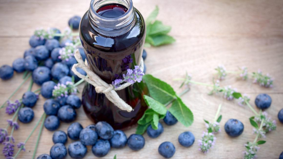 blåbærsaft