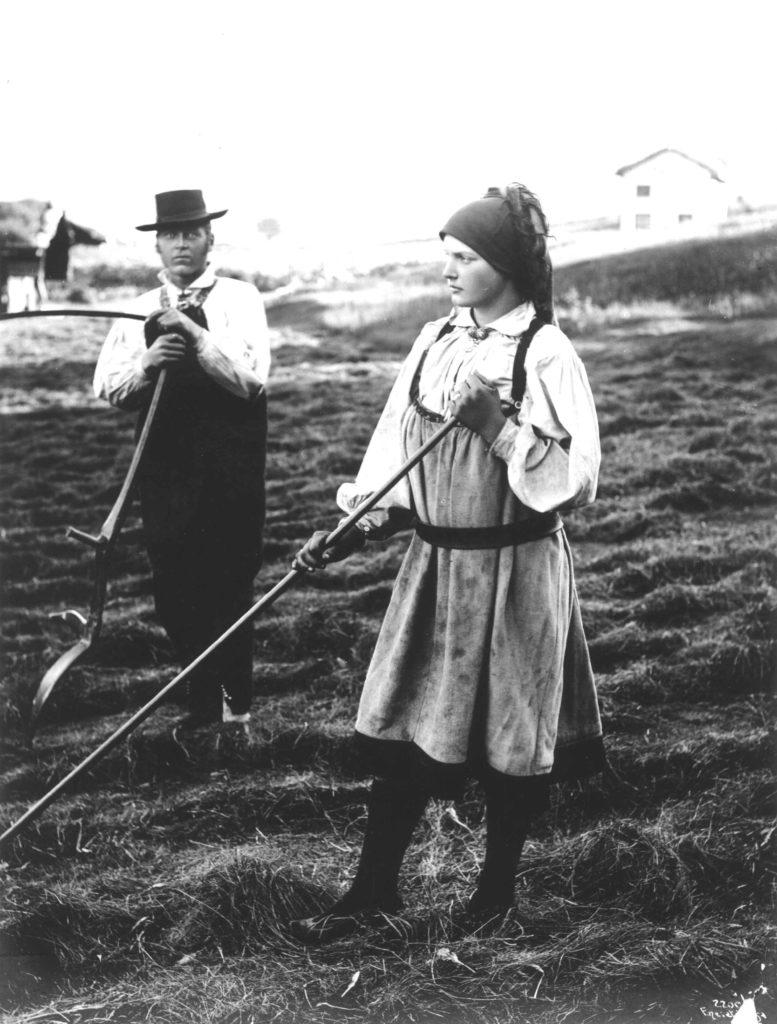 mann og kvinne, slått aust-agder 1888